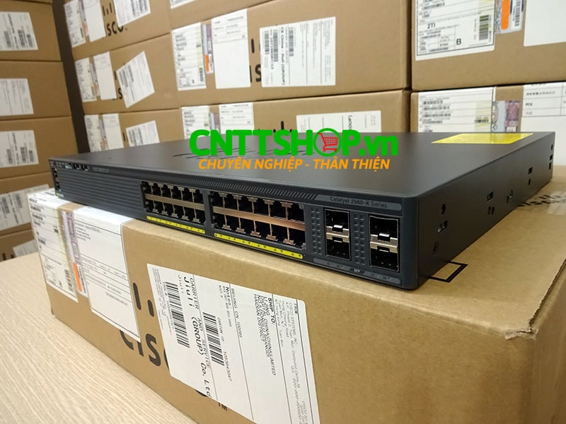 Switch Cisco WS-C2960X-24TS-L 24 GigE, 4 x 1G SFP, LAN Base | Image 5