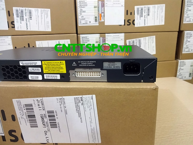 Switch Cisco WS-C2960X-24TS-L 24 GigE, 4 x 1G SFP, LAN Base | Image 7