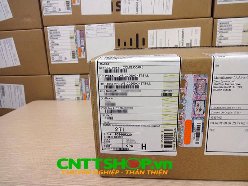 Switch Cisco WS-C2960X-48TS-LL 48 GigE 2x 1G SFP LAN Lite | Image 2