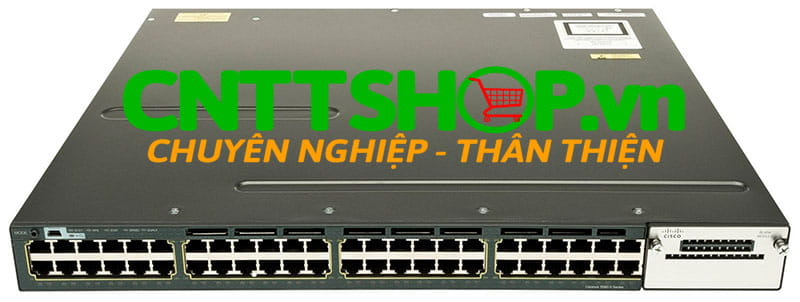 Switch Cisco WS-C3560X-48P-E Catalyst 3560X 48 Port PoE IP Services
