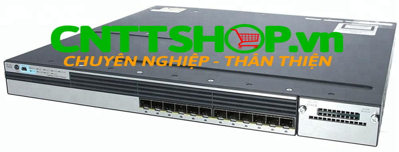 Switch Cisco WS-C3750X-12S-S Catalyst 3750X 12 Port GE SFP IP Services
