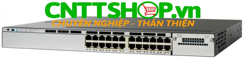 Switch Cisco WS-C3750X-24U-L Catalyst 3750X 24 Port Data LAN Base