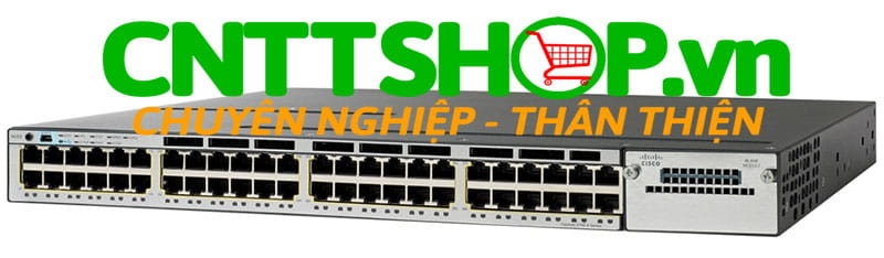Switch Cisco WS-C3750X-48P-S Catalyst 3750X 24 Port  PoE IP Base
