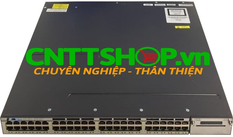 Switch Cisco WS-C3750X-48U-L Catalyst 3750X 24 Port Ethernet UPOE ports