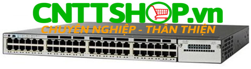 Switch Cisco WS-C3850-48U-L Catalyst 3850 48 Port UPOE LAN Base