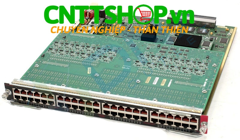 Cisco WS-X6148-RJ45V Catalyst 6500 48 Ports 10/100 RJ-45 Classic Interface Module