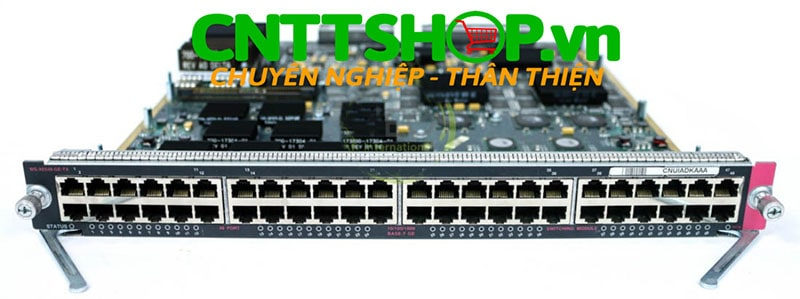 Cisco WS-X6548-GE-TX Cat6500 48 Ports fabricEnabled 10/100/1000 Module