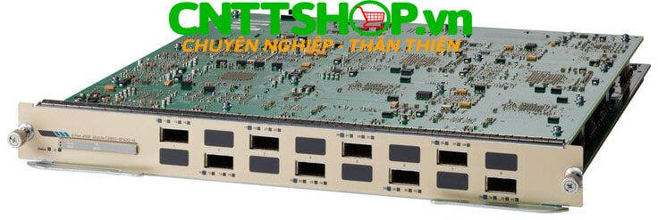 Cisco C6800-8P40G-XL Catalyst 6800 8 Ports 40GE with dual integrated dual DFC4-EXL Line Card