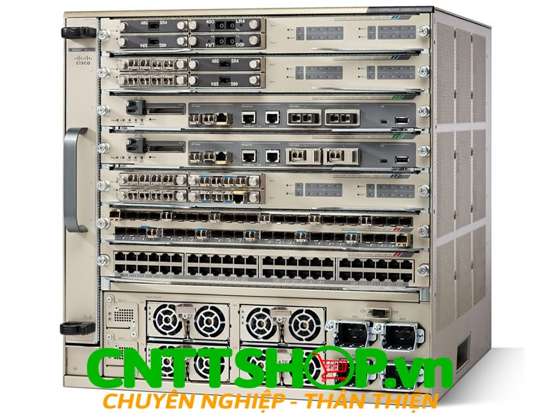Cisco 2D-C6807-XL= Catalyst 6807-XL 7-slot chassis, 10RU (spare) w/2D Barcode
