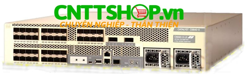 Cisco C6840-X-LE-40G Catalyst 6840-X-Chassis and 2 x 40G (Standard Tables)