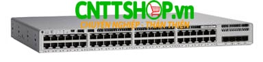 Switch Cisco C9200L-24PXG-2Y-E 24-port 8xmGig, 16x1G, 2x25G, PoE+, Network Essentials