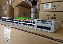 C9200L-24P-4G-A Switch Cisco Catalyst 9200L 24 Port PoE+ 370W, 4x1G uplink, Network Advantage