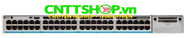 Switch Cisco C9300-48UXM-E Catalyst 9300 48-port 2.5G (12 mGig) UPOE 490W, Network Essentials