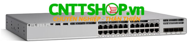 Cisco C9300L-24P-4X-E 24 Ports PoE+, 4X10G uplinks, Network Essentials