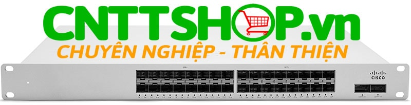 Thiết bị mạng switch Cisco Meraki MS425-32 Layer-3 32-port 10GbE SFP+ 2-port 40GbE QSFP ports, hot-swappable PS / fans