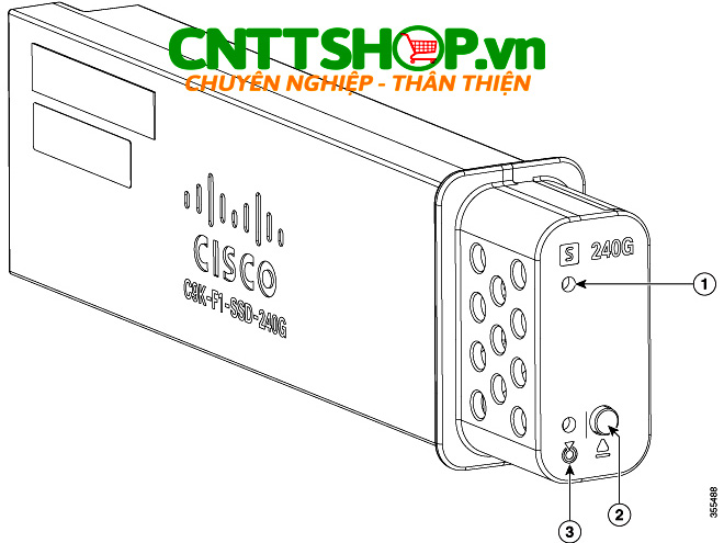 C9K-F1-SSD-960G Cisco pluggable SSD storage 960 GB