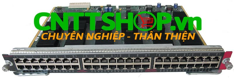 WS-X4448-GB-RJ45 Cisco Catalyst 4500 48-Port 10/100/1000 Module (RJ-45) Switching module