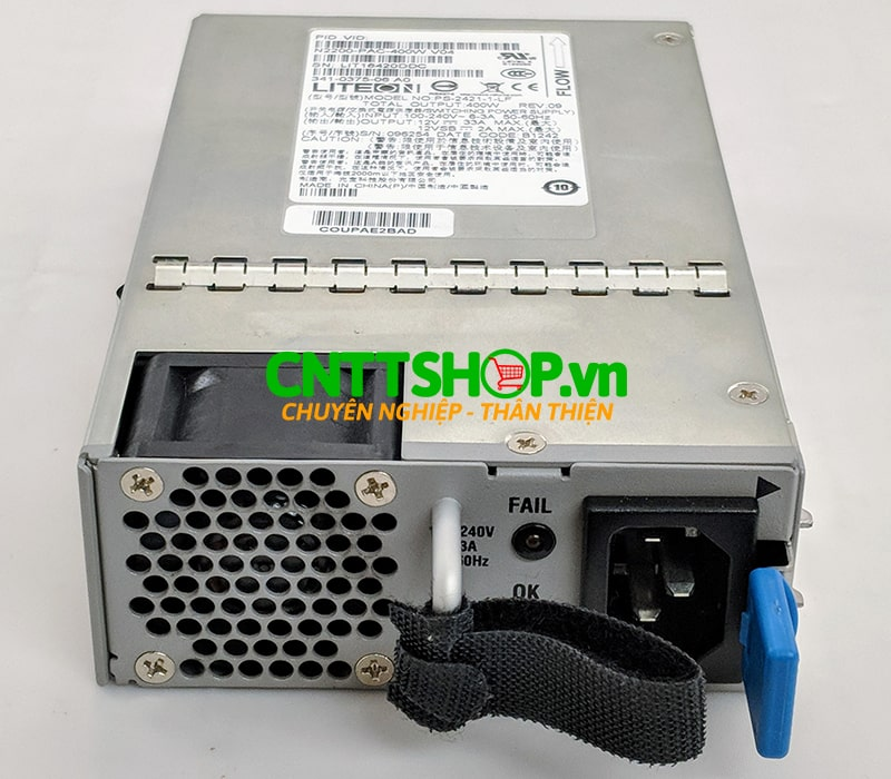 Nexus N2000-PAC-400W-B= N2K/3K 400W AC Power Supply Reversed airflow