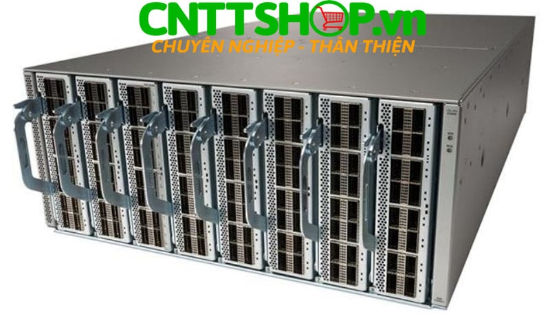 Switch Cisco N3K-C3408-S Nexus 3408-S with 32 Ports of QSFP-DD 400GbE