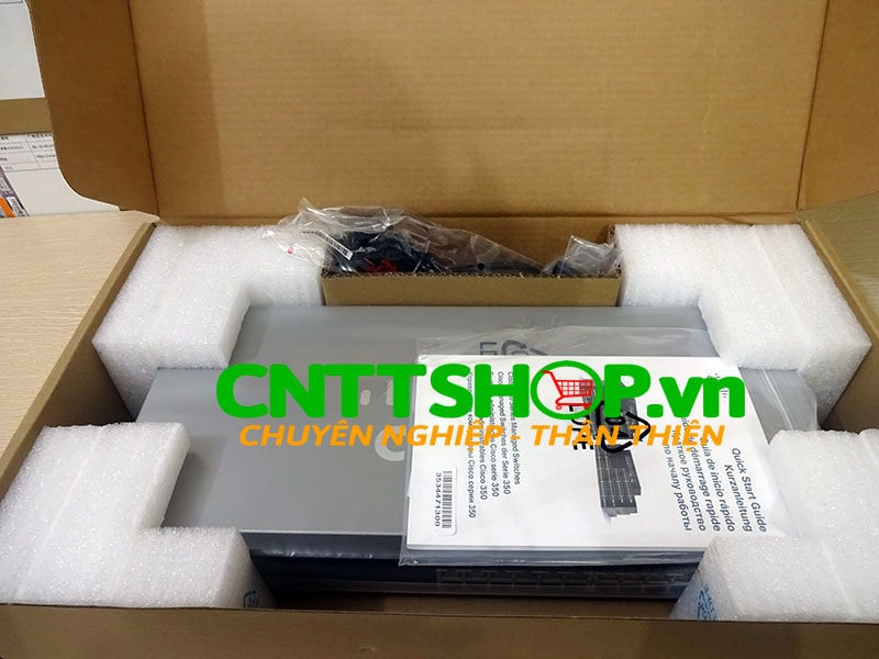 SG350-28-K9-EU Switch Cisco 24 Ports GE, 2 SFP slots, 2 combo M-GBIC | Image 4