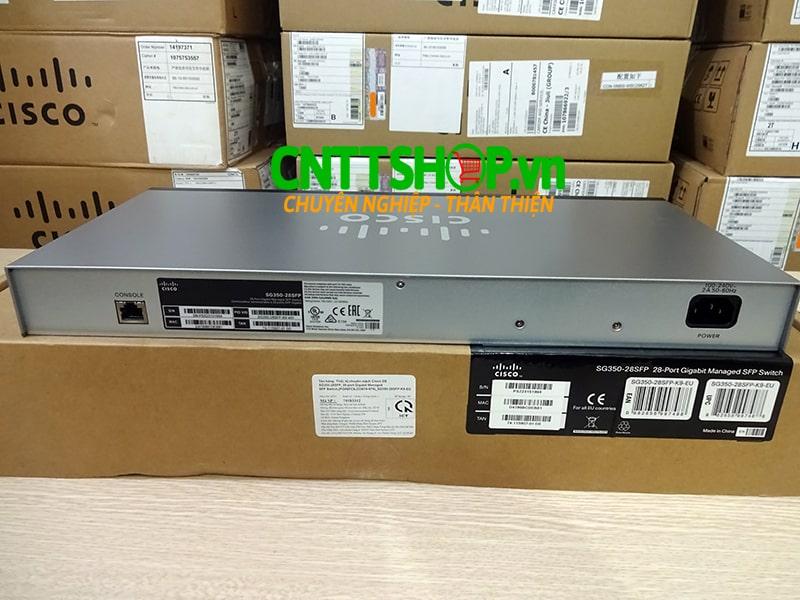 Switch Cisco SG350-28SFP-K9 24 Ports GE SFP 2 Gigabit Copper