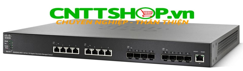 Switch Cisco SG550XG-8F8T-K9 8x 10G 10GBase-T copper port, 8x 10G SFP+ (dedicated), 1 x 1G Mgr