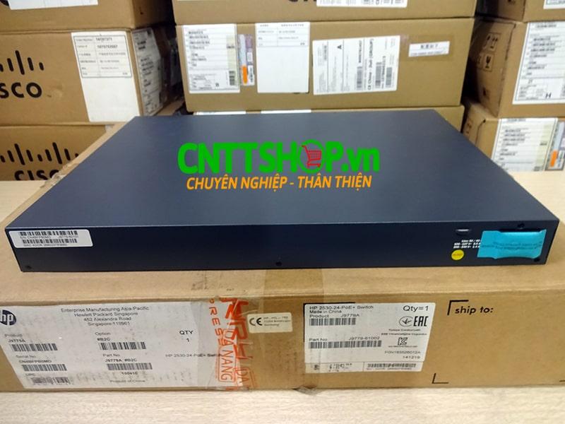 J9779A Switch Aruba 2530 24 Ports 10/100 PoE+ 195W, 4 Uplink Ports   Image 4