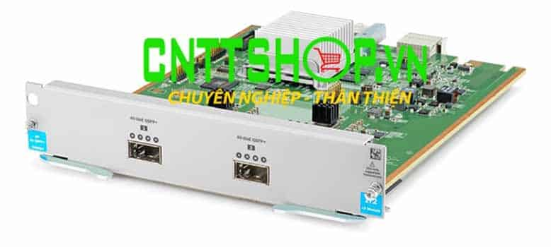 Expansion Module Switch HP J9996A 2-port 40GbE QSFP+