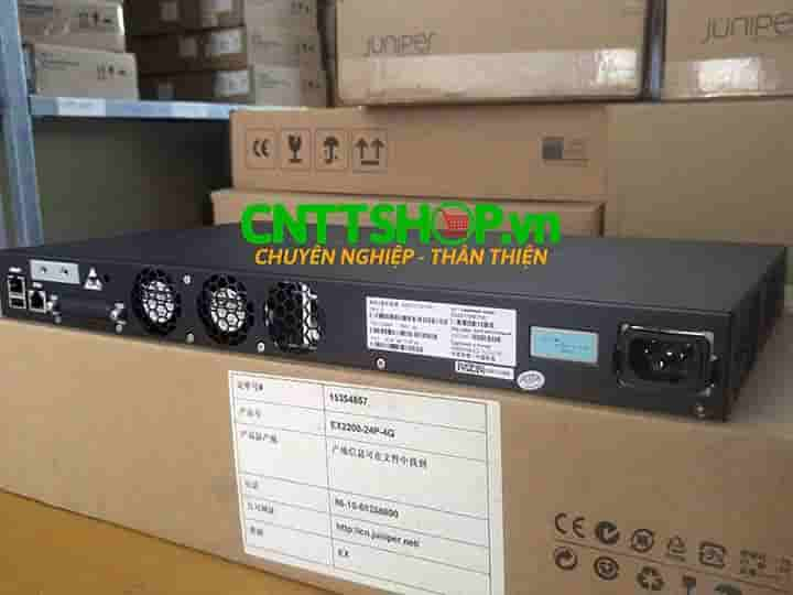 EX2200-24P-4G Switch Juniper 24 Ports PoE+ 4 SFP Slot | Image 3
