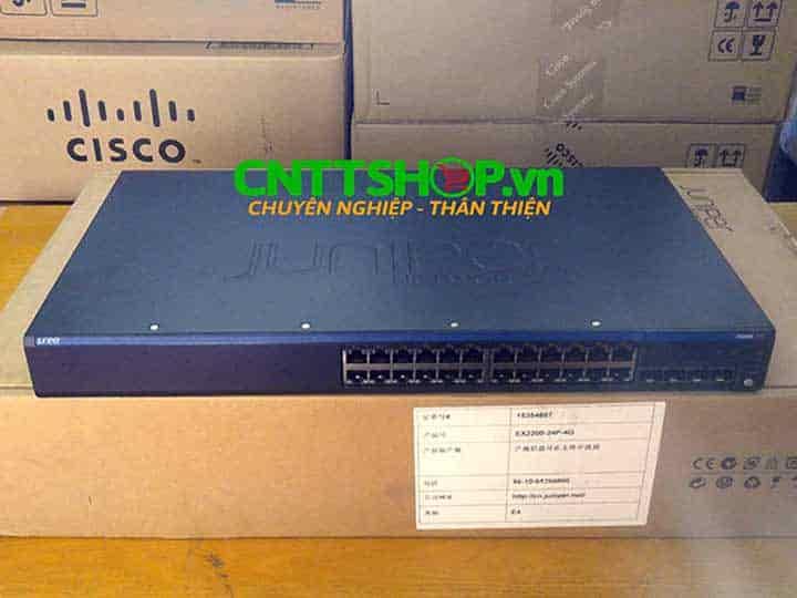 EX2200-24P-4G Switch Juniper 24 Ports PoE+ 4 SFP Slot | Image 5