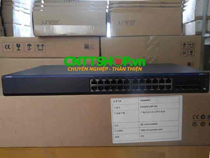 EX2200-24P-4G Switch Juniper 24 Ports PoE+ 4 SFP Slot | Image 6