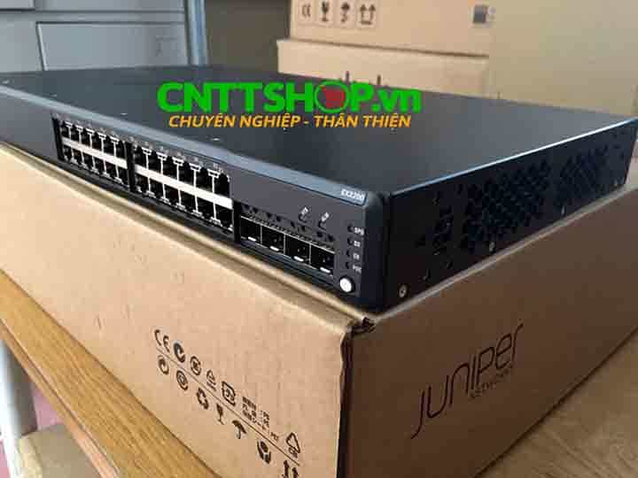 EX2200-24T-4G Switch Juniper 24 Ports Data 4 SFP Uplink Slot | Image 1