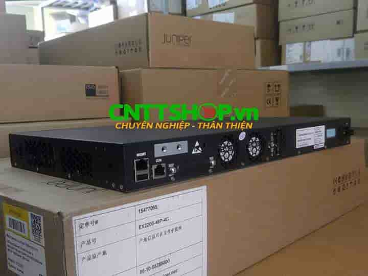 EX2200-48P-4G Switch Juniper 48 Ports PoE+ 4 SFP Slot | Image 3