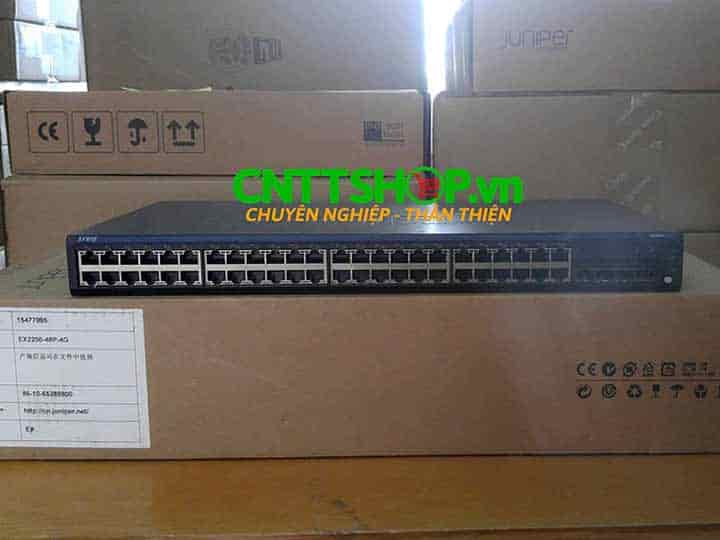 EX2200-48P-4G Switch Juniper 48 Ports PoE+ 4 SFP Slot | Image 4
