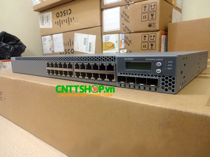 EX3300-24T Switch Juniper 24 Port 10/100/1000BaseT with 4 SFP+ | Image 2
