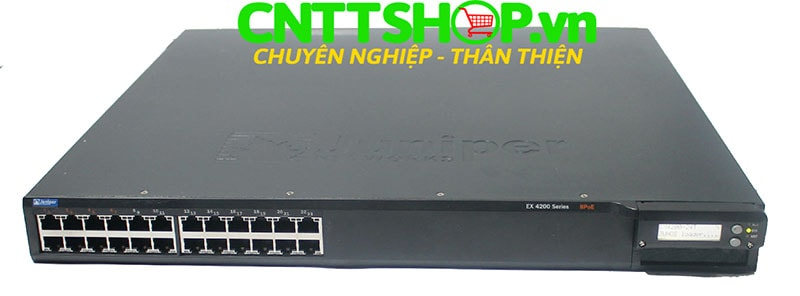 Switch Juniper EX4200-24T 24 Port GE (8-ports PoE) 320WAC PSU