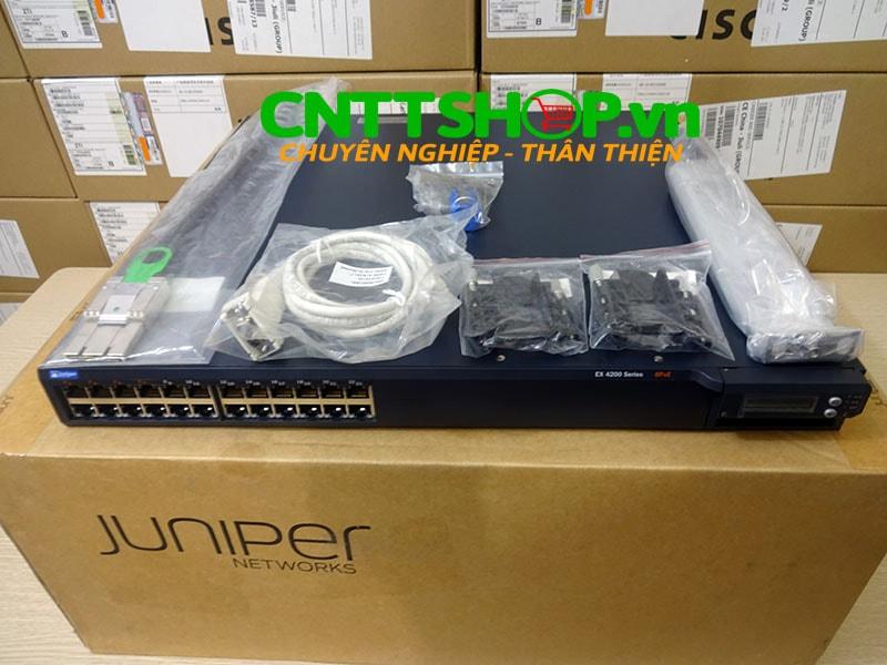 EX4200-24T Switch Juniper 24 Port GE (8-ports PoE) 320WAC PSU   Image 6