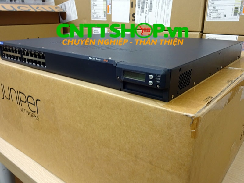 EX4200-24T Switch Juniper 24 Port GE (8-ports PoE) 320WAC PSU   Image 9