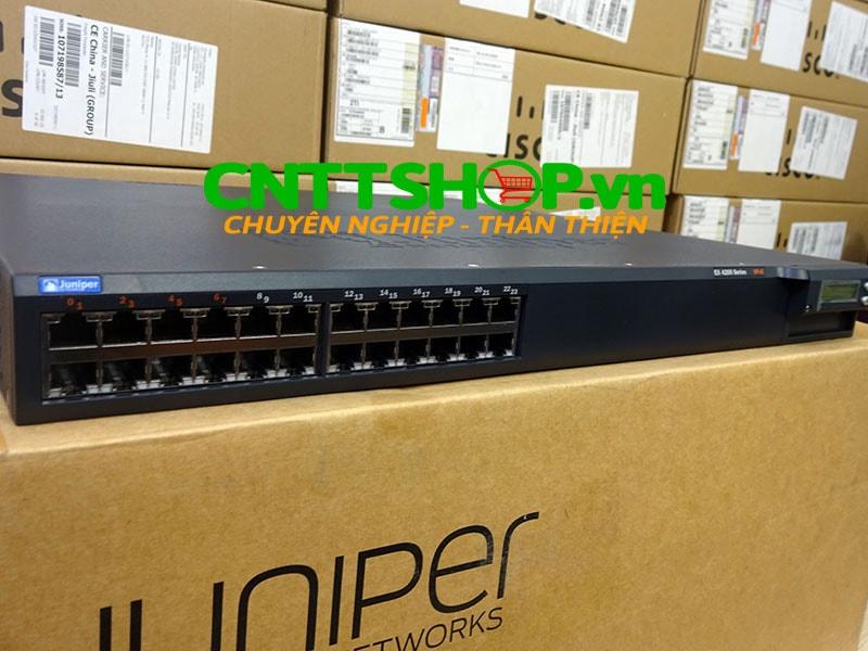 EX4200-24T Switch Juniper 24 Port GE (8-ports PoE) 320WAC PSU   Image 1