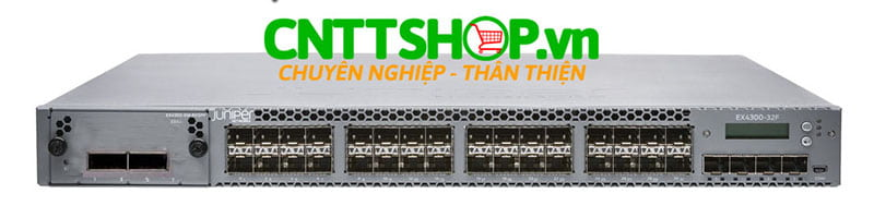 EX4300-32F-S Switch Juniper Spare chassis 32 Port SFP, 4 SFP+, 2 QSFP+, No Fans, No Power Supply