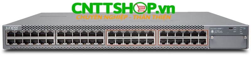 EX4300-48MP Switch Juniper EX4300 48 Port PoE+ 1100W, 1400WAC PS