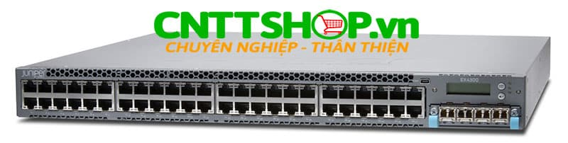 EX4300-48P Switch Juniper EX4300 48 Port 10/100/1000BASE-T PoE+ 950W with 1100WAC PS