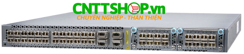 EX4600-40F-AFI Switch Juniper EX4600 24 SFP+/SFP Ports, 4 QSFP+ Ports, back to front airflow