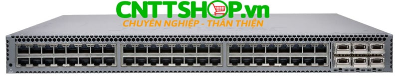 Switch Juniper QFX5100-48T-AFO QFX5100 48 100M/1G/10G RJ-45 ports, 6 QSFP ports, front-to-back airflow