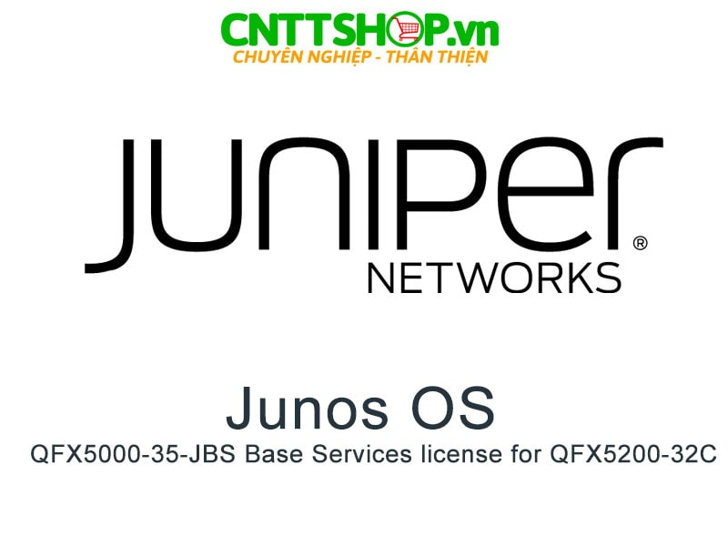 Juniper QFX5000-35-JBS Base Services license for QFX5200-32C