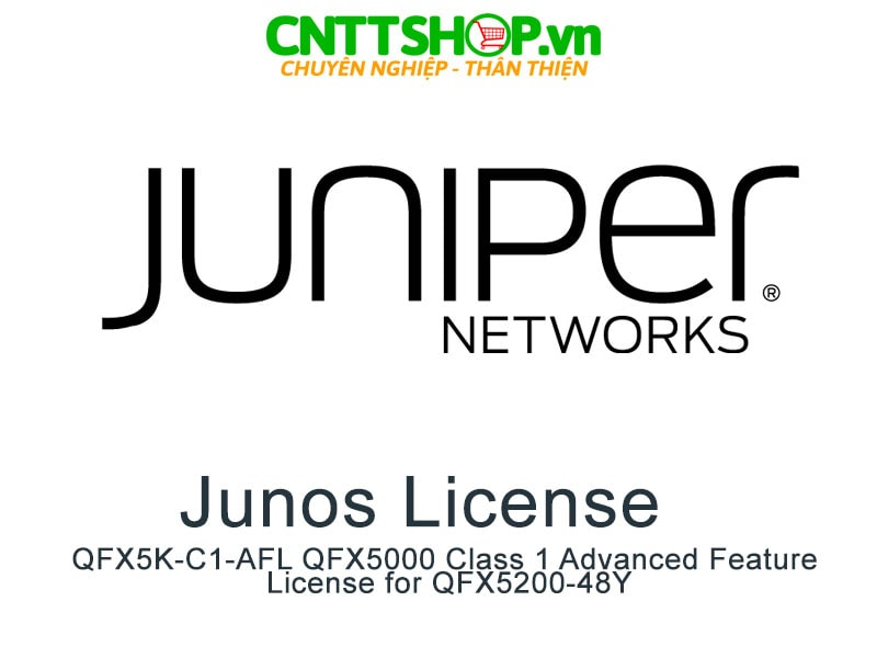 Juniper QFX5K-C1-AFL QFX5000 Class 1 Advanced Feature License for QFX5200-48Y