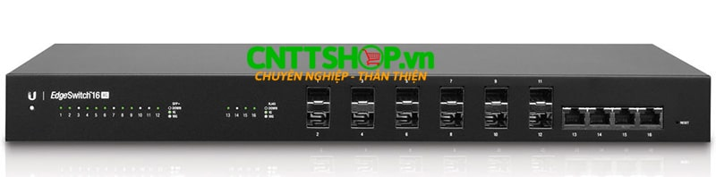 Unifi EdgeSwitch ES‑16‑XG 10G 16-Port Managed Aggregation Switch.