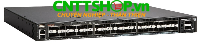 Ruckus ICX7650-48F ICX 7650 48 Ports SFP Switch with 1 Modular Slots