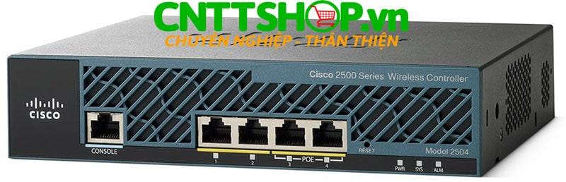 Cisco AIR-CT2504-5-K9 2504 Wireless Controller with 5 AP Licenses