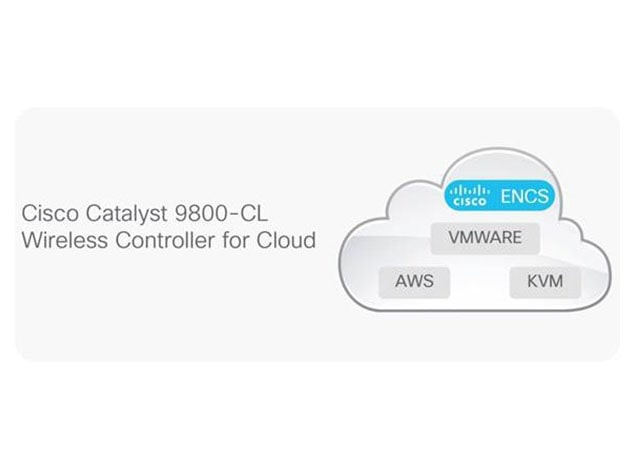 C9800-CL-K9 Cisco Catalyst 9800-CL Wireless Controller for Cloud | Image 1